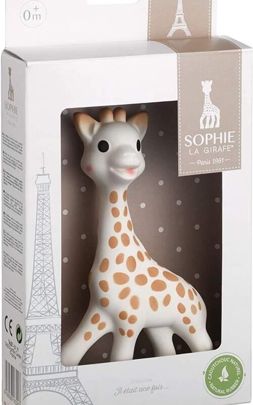 Sophie la girafe el regalo perfecto para el bebe recien-nacido